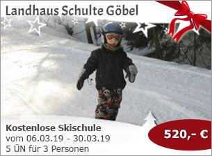 Landhaus Schulte-Göbel - Kostenlose Skischule