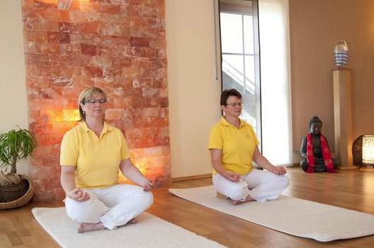 Sich finden beim Yoga