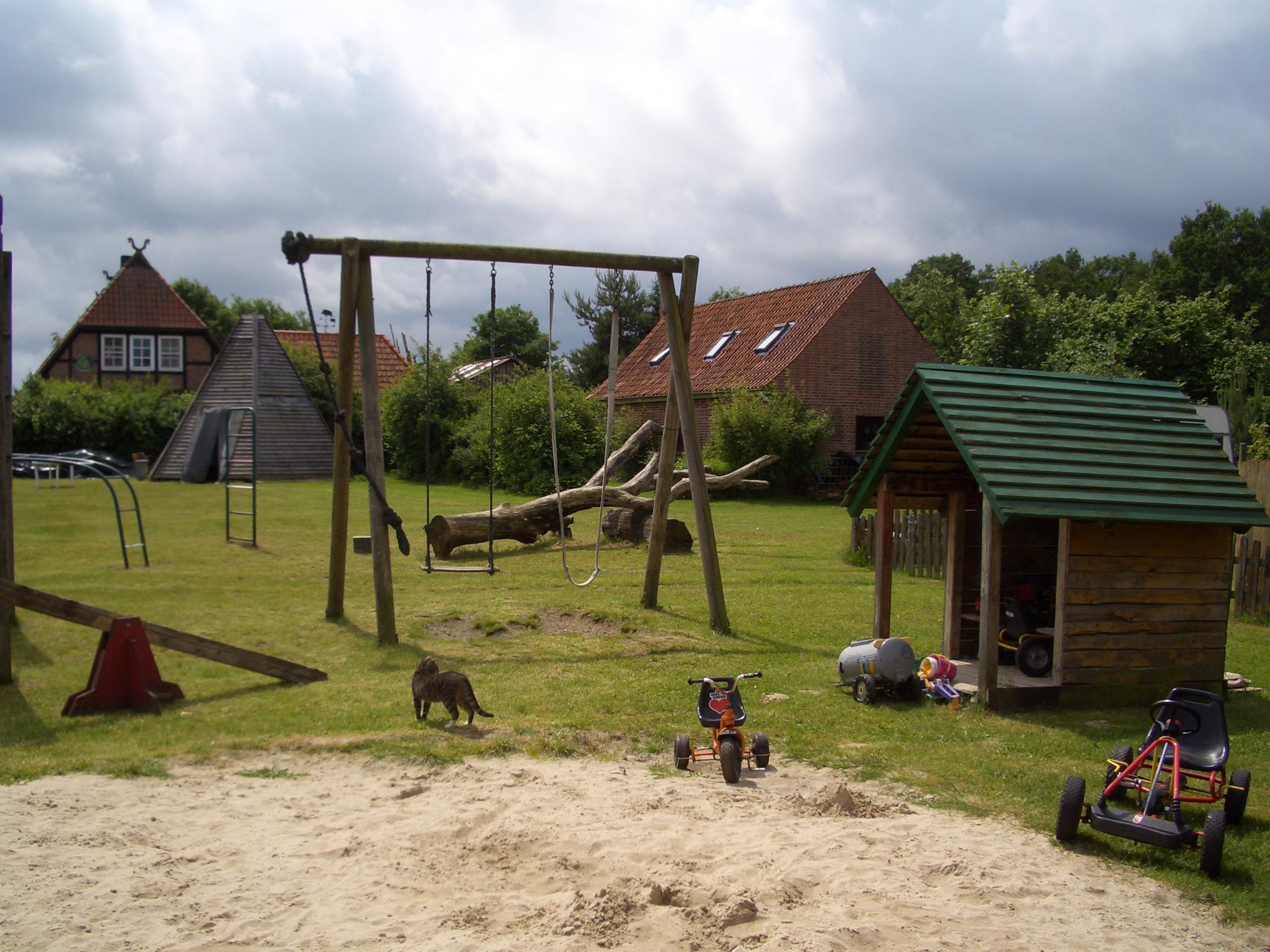 Spielplatz auf dem Cohrshof