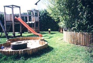 Spielplatz auf dem Ferienhof Frankenhöhe
