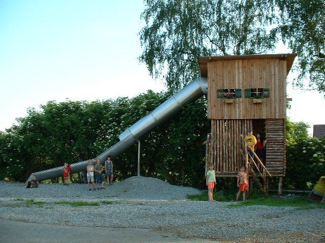 Spielplatz auf dem Ferienhof Rösch