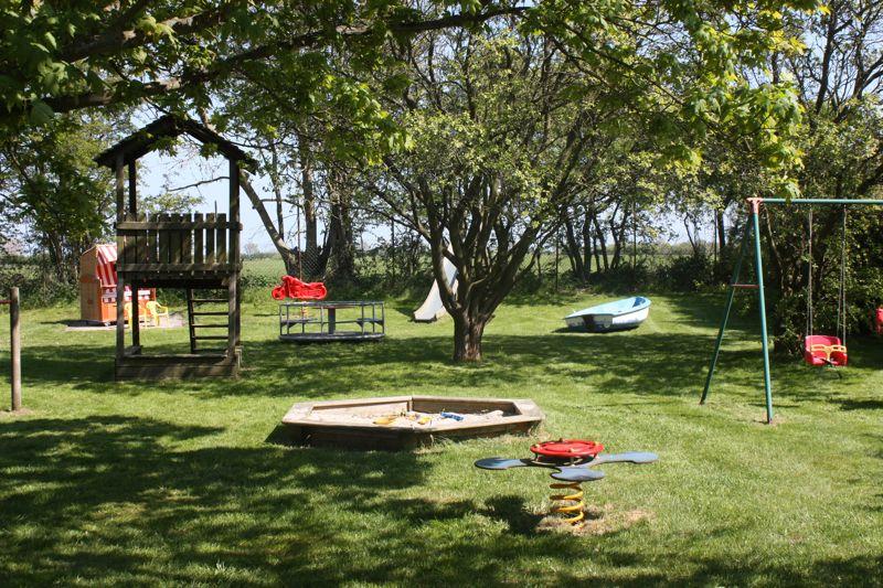 Spielplatz auf dem Ferienhof Rickert