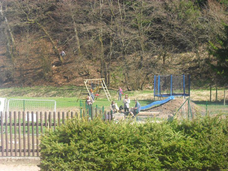Spielplatz auf dem Friedahof