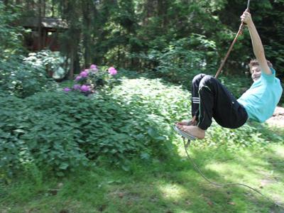 Tarzanschaukel auf dem Ennenhof