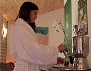 Tee immer frisch in der Wellness Oase auf Hof Hardthöhe