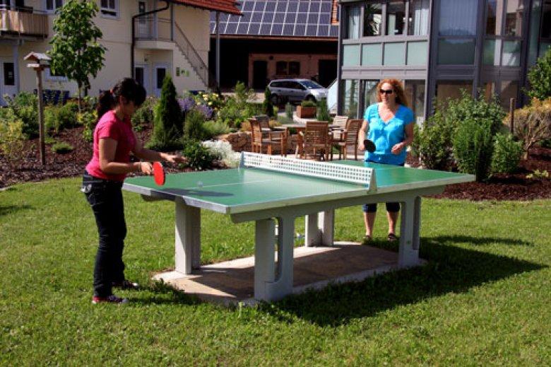 Tischtennis auf dem Ferienhof Haus Sonnenschein