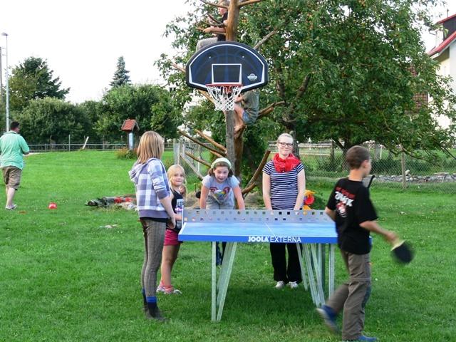 Tischtennis auf dem Ferienhof Rösch