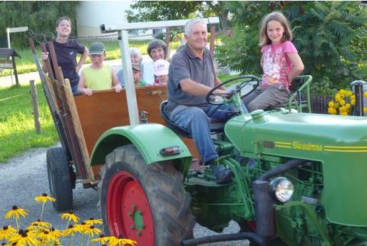 Traktor-Tour mit Bauer Michael