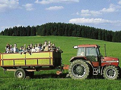 Treckerfahrt Hof Stratmann