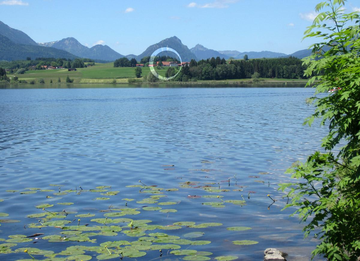 Umgeben vom See und den Bergen Ferienhof Böck