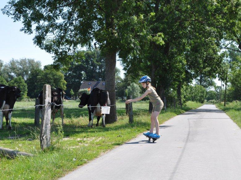 Viel Platz beim Ferienbauernhof Hobbie