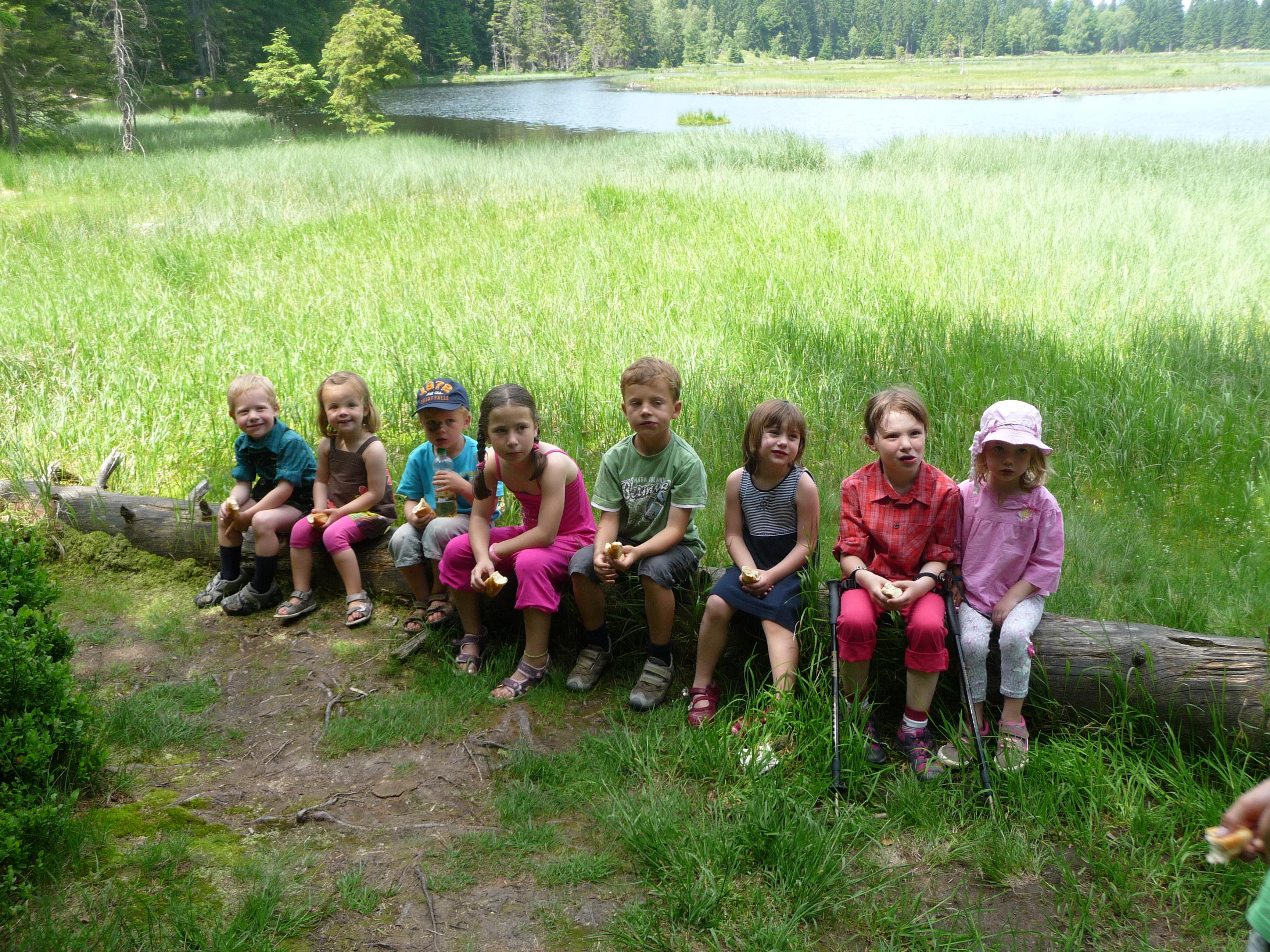 Wandern mit Kindern auf dem Ferienhof Kilger