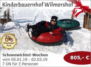 Kinderbauernhof Wilmershof - Schneewichtel-Wochen