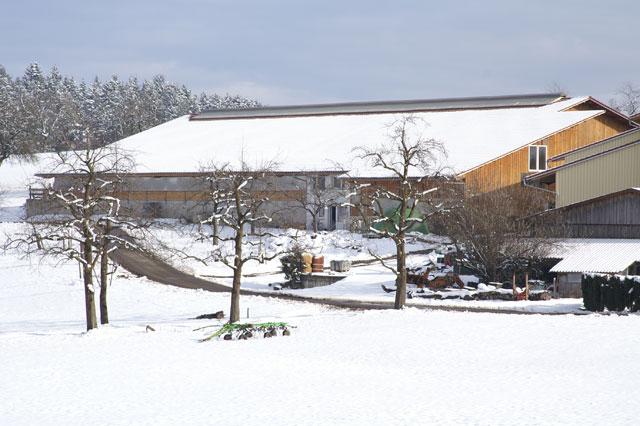 Winter auf dem Ferienhof Sauter