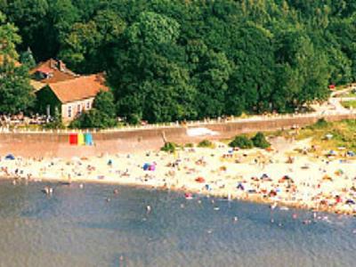 Wunderschöner Strand beim Ferienhof Hayenort