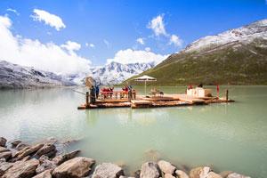Persönlicher Tipp der Familie Eiter: Europas höchste Floßfahrt auf 2.232 Höhenmetern in den Ötztaler Alpen!
