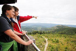 Persönlicher Tipp des Fiegenhofs: Wandertour von Lautenbach zum Moosturm mit traumhaften Rundumsichten