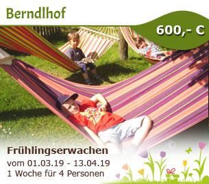 Frühlingserwachen auf dem Berndlhof