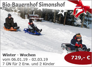 Bio-Bauernhof Simonshof - Winter - Wochen
