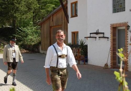 Johann Lang in Tracht