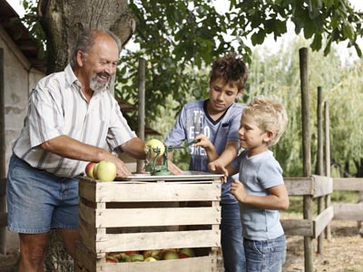 familien-ferien Familienurlaub Apfelernte Ailingen