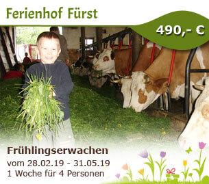 Frühlingserwachen auf unseren Bio-Bauernhof im Bayerischen Wald