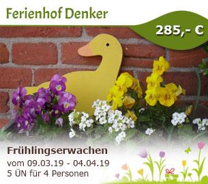 Frühlingserwachen am Ferienhof Denker