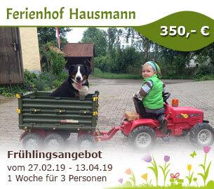 Frühlingsangebot - Ferienhof Hausmann