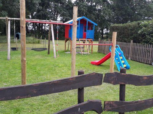 Spieleparadies auf dem Ferienhof Maisidden