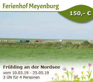 Frühling an der Nordsee - Ferienhof Meyenburg