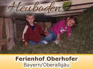 Weitere Informationen zum Ferienhof Oberhofer