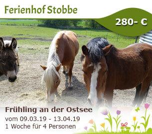 Frühling an der Ostsee - Ferienhof Stobbe