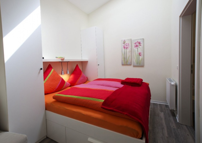 Ferienwohnungen - Schlafzimmer