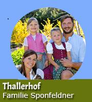 Familie Sponfeldner - Thallerhof