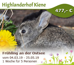 Frühling an der Ostsee - Highlanderhof Kiene