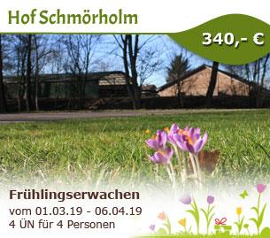 Frühlingserwachen auf dem Hof Schmörholm