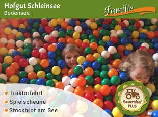 Hofgut Schleinsee - Jubiläumstipp