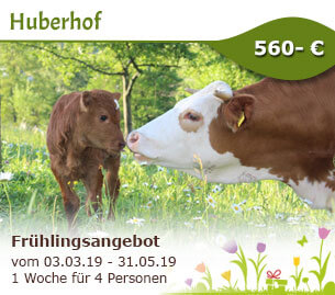 Frühlingsangebot - Huberhof