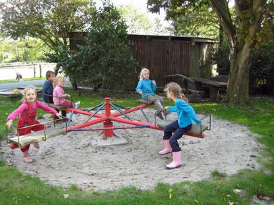 Karussel am Spielplatz