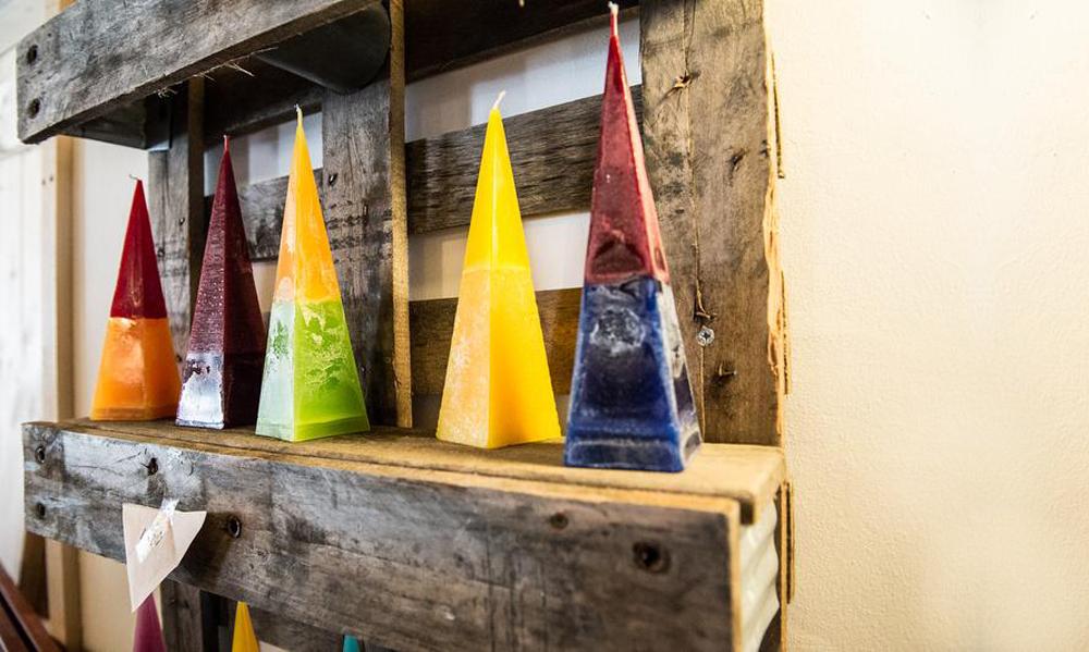 Tolle Kerzen aus eigener Herstellung in der Kerzendiele