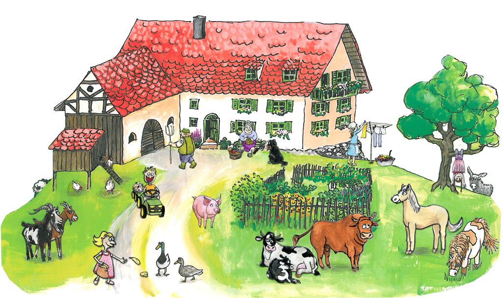 """Bauernhof """"Zum Glück"""""""