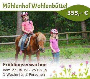 Frühlingserwachen am Mühlenhof Wohlenbüttel