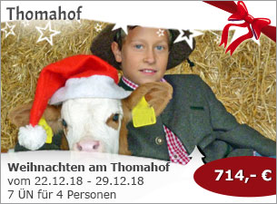Thomahof - Weihnachten am Thomahof