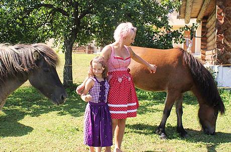 Nah bei den Pferden