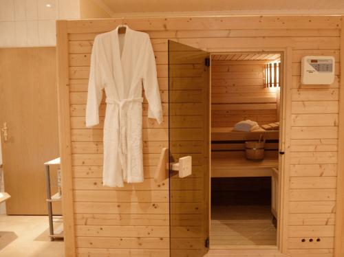Die Hofeigene Sauna auf dem Ferienhof Niemann