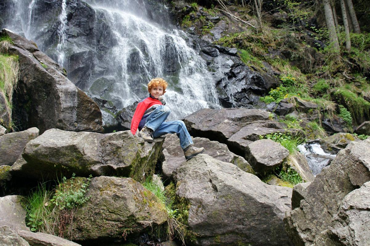 Die Zweribacher Wasserfälle - © Susanne Bayer/Schwarzwald Tourismus