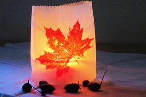 Herbstliches Windlicht vom Schelterhof